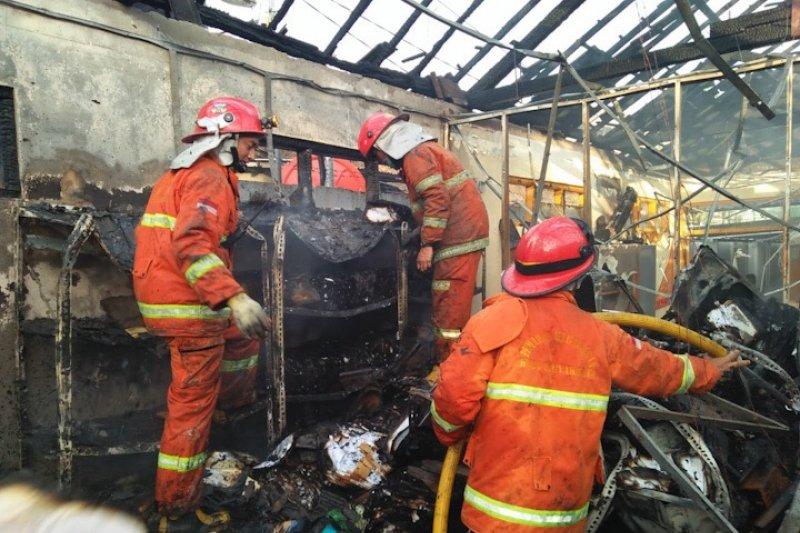 Kebakaran Gudang Arsip Yogyakarta akibat korsleting