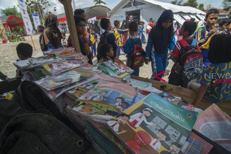Pembangunan sekolah rusak akibat gempa di Sigi mulai dibangun
