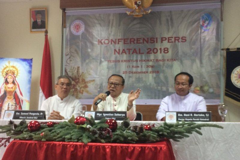 Uskup Agung Jakarta harapkan Pemilu 2019 tak sekadar demokrasi prosedural