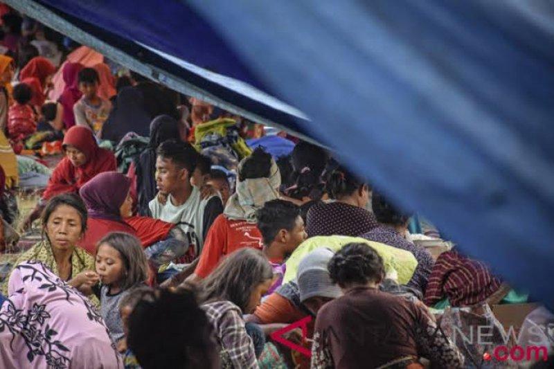 Korban gempa Lombok tunggu bantuan pemerintah