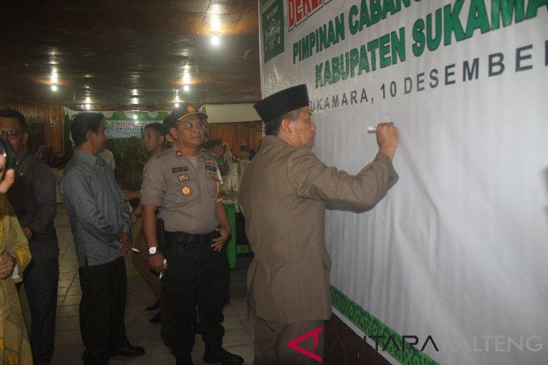 Pemkab Sukamara apresiasi kepedulian Muslimat NU ikut perangi narkoba