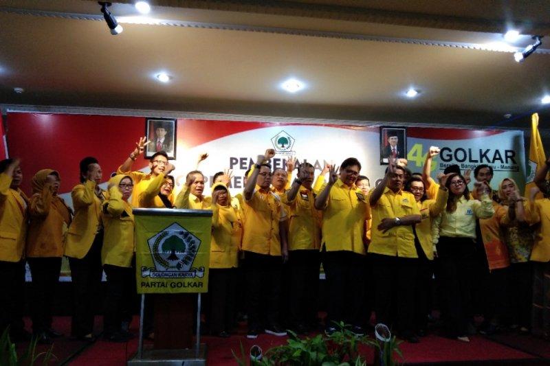 Ketua Umum Golkar targetkan kemenangan 18 persen pada Pemilu 2019