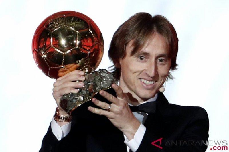 Luka Modric beri sinyal ingin bermain di Liga Italia