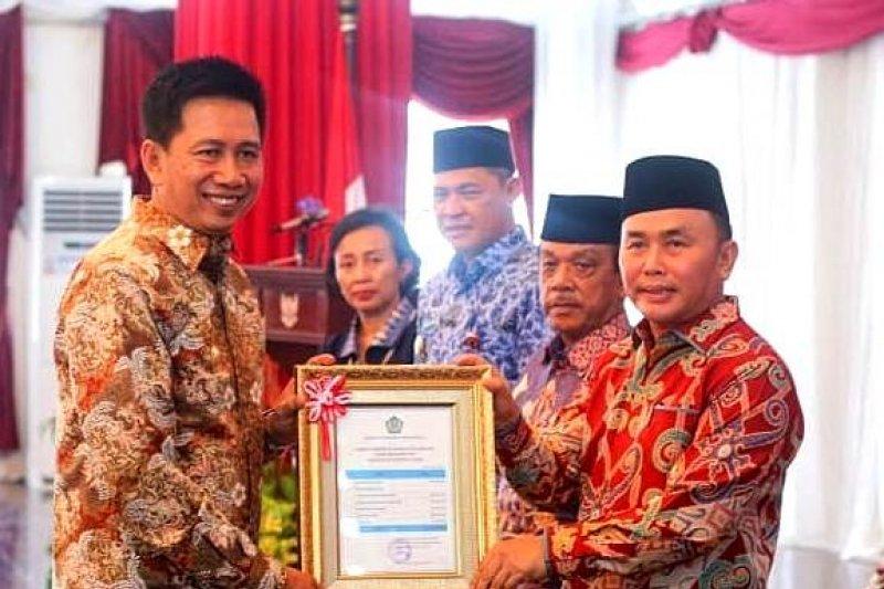 Bupati Barito Utara terima DIPA tahun anggaran 2019