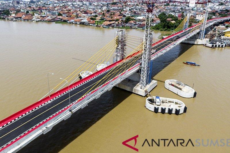 Rekayasa lalin Jembatan Musi IV dilakukan awal Januari 2019