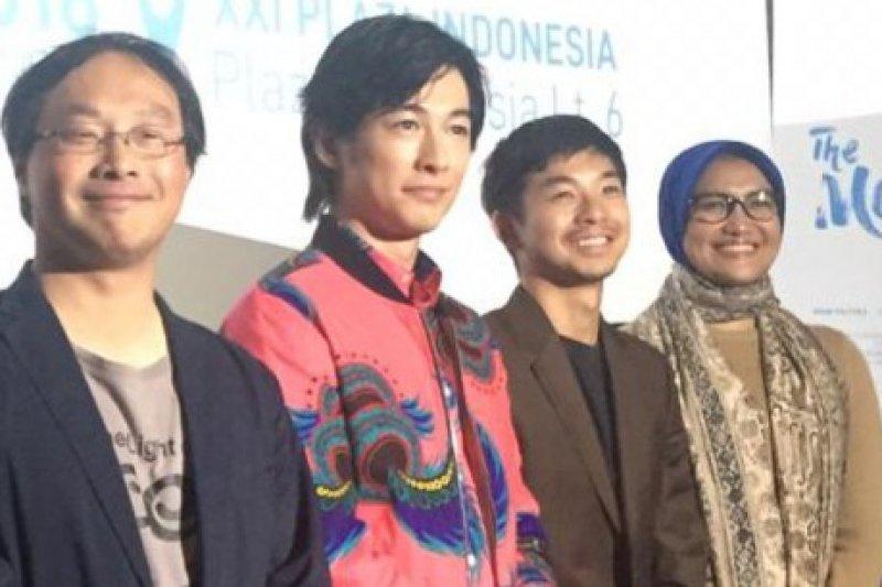 Di Indonesia, aktor Jepang Taiga belajar hal ini