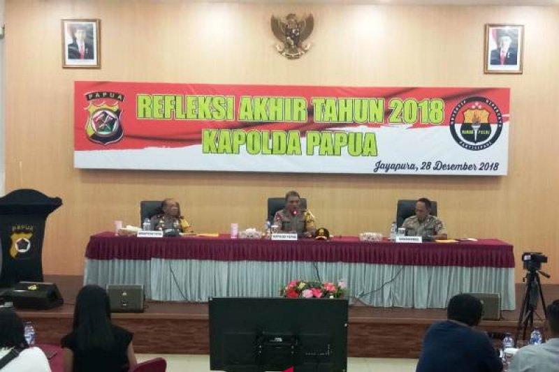 Kapolda Papua: 26 kasus penembakan oleh KKB selama 2018