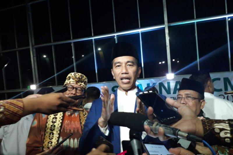 Presiden minta ICMI dan ormas Islam jaga persatuan