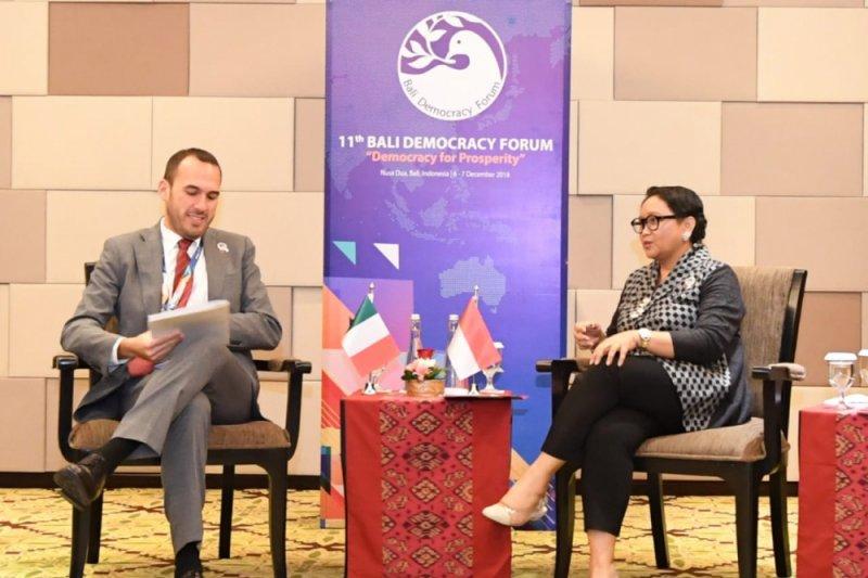 Indonesia dan Italia tingkatkan kerja sama perdagangan dan investasi