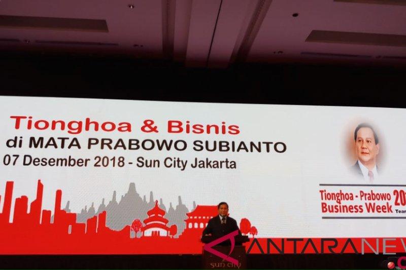 Komunitas Tionghoa sumbang Prabowo-Sandi Rp435 juta