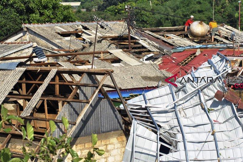 BPBD catat 39 bangunan di Bangkalan rusak akibat puting beliung