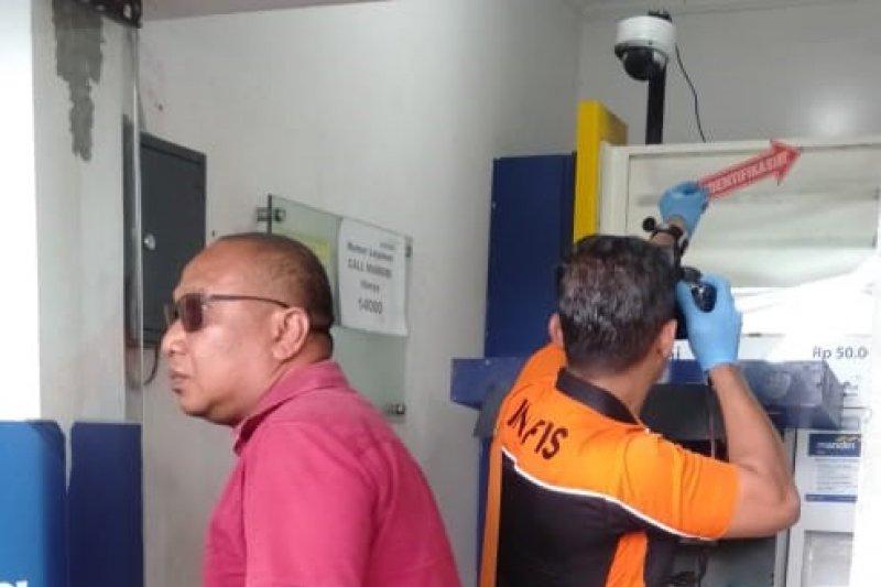 Polisi selidiki percobaan pembobolan ATM Bank Mandiri