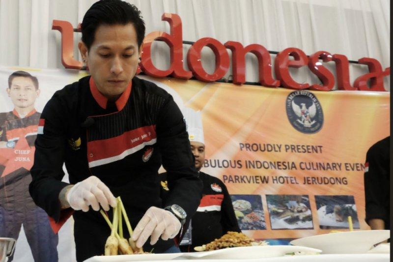 Chef Juna promosikan kuliner Indonesia di Brunei