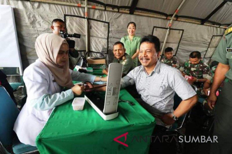 TNI gelar donor darah peringati Hari Juang Kartika