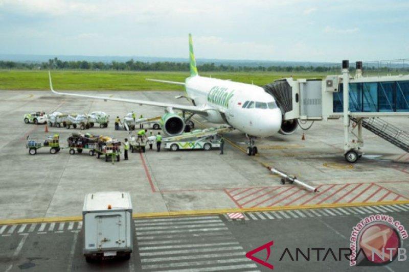 Bandara Lombok mencatat lonjakan penumpang selama libur Natal-Tahun Baru