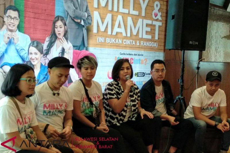 """Bintang """"Milly & Mamet"""" temui fans di Makassar"""