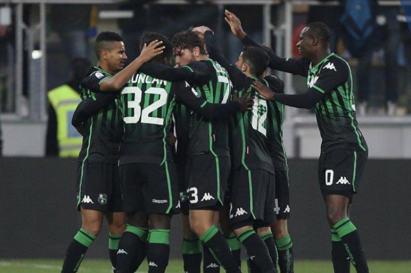 Sassuolo curi tiga poin dari kandang Frosinone