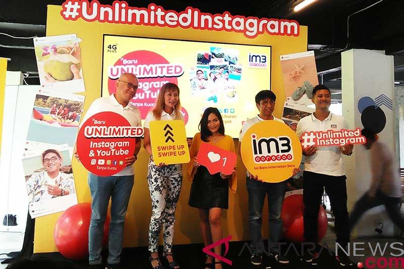 Indosat sediakan IM3 paket unlimited akses medsos tanpa kuota