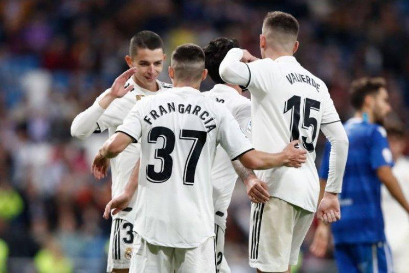 Madrid gasak Melilla 6-1 di 32 besar Copa del Rey