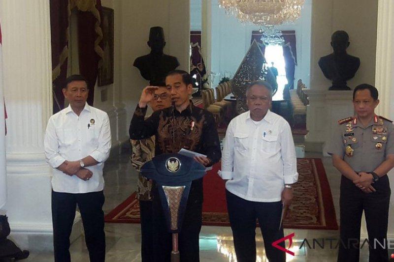 Presiden tegaskan pembangunan di Papua tetap diteruskan