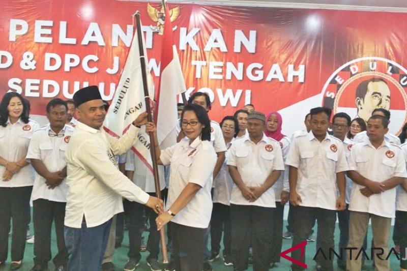 Sedulur Jokowi siap tebar senyum untuk tarik simpati rakyat
