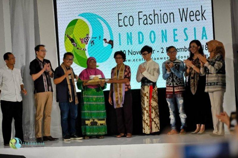 "Eco Fashion Week canangkan ""Save The Loom"" selamatkan penenun Indonesia"