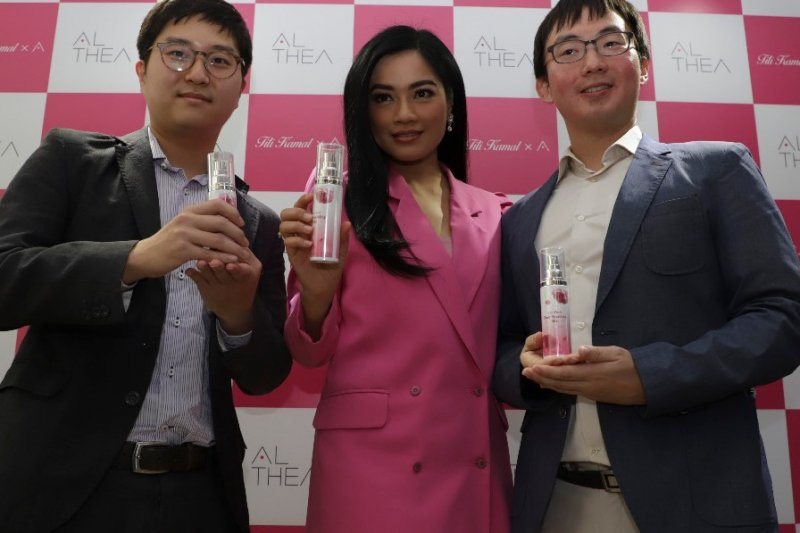Parfum produk Titi Kamal memiliki karakter aroma manis