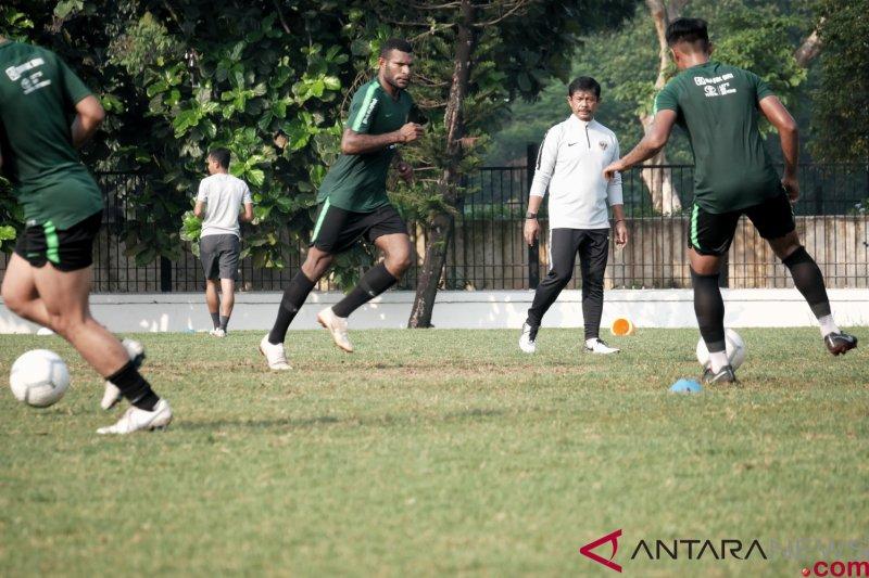 Timnas U-22 Indonesia jalani latihan perdana