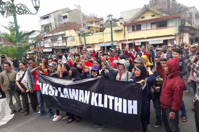 "Warga Yogyakarta demo tuntut Perda Pencegahan ""Klitih"" (Video)"