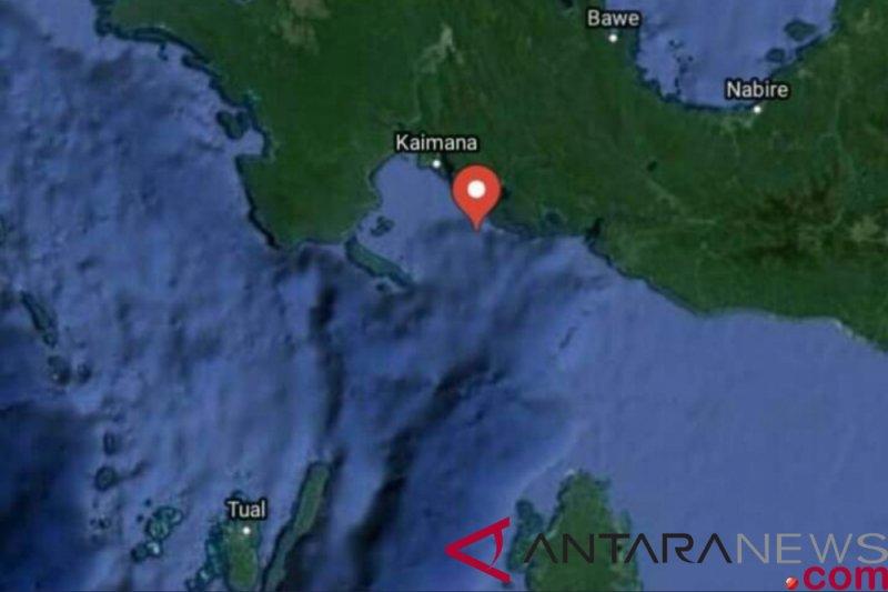 Gempa 4,1 SR guncang Kabupaten Kaimana-Papua Barat