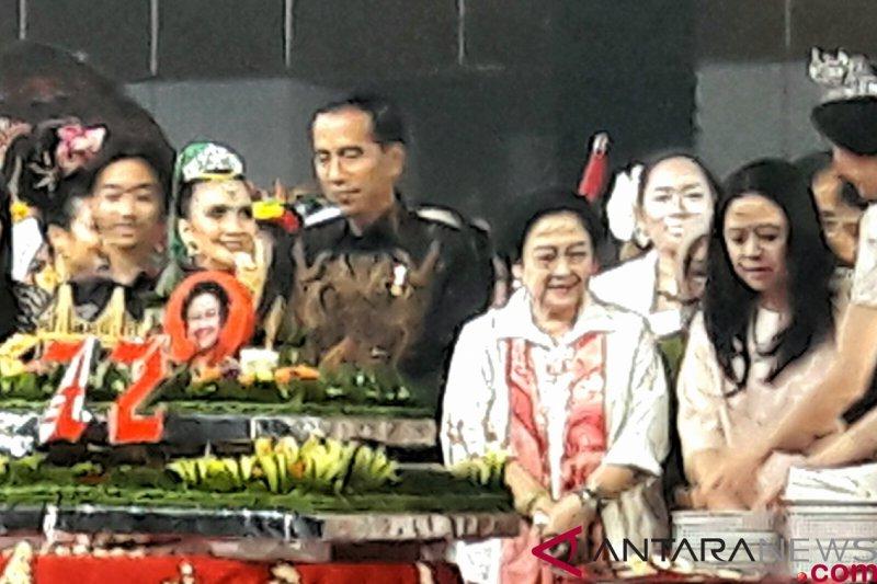 Doa Presiden di HUT Megawati Soekarnoputri