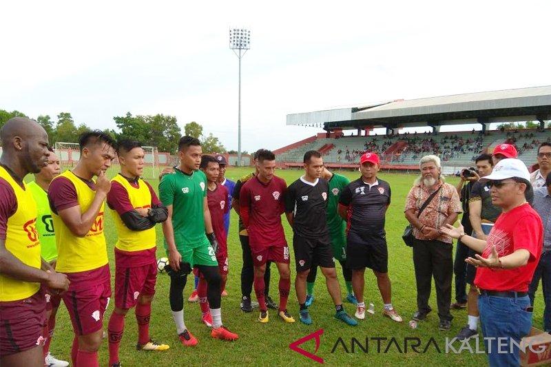 Agustiar akan berikan kejutan bagi warga Kalteng terkait pemain asing