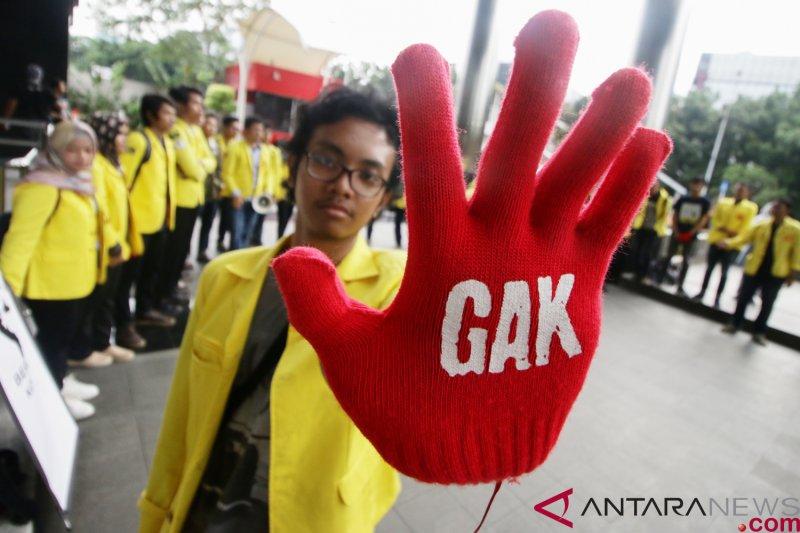 Gerakan Antikorupsi minta KPK tetap bekerja keras pasca peneroran