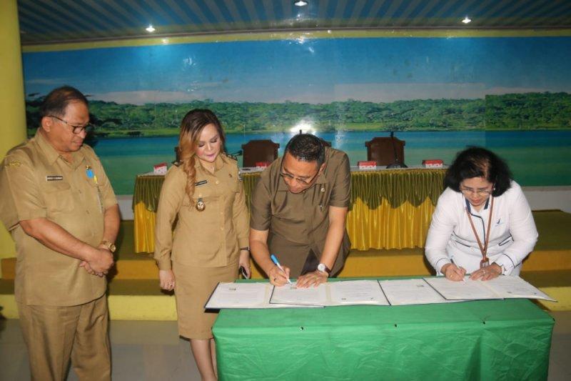 Pemkot Tomohon-BBPOM Manaod menandatangani MoU pengawasan terpadu