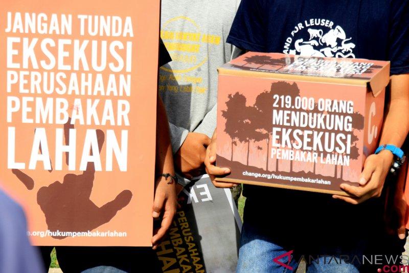 Ini 10 konsesi perusahaan diduga kuat penyebab karhutla Riau