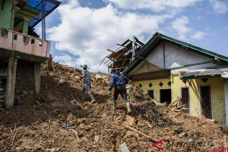 Pemerintah belum tentukan lokasi relokasi korban longsor Sukabumi