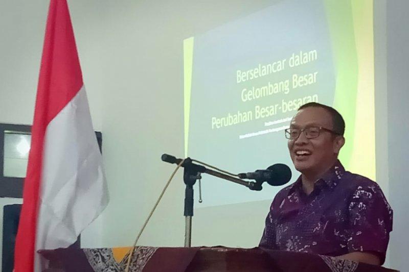 Kuliah umum Polbangtan: Membangun integritas petani milenial bersama Irjen Kementan