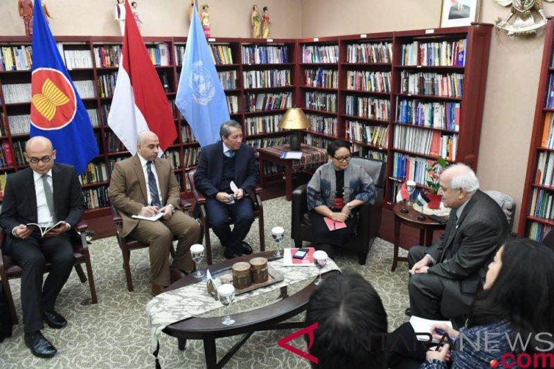 Indonesia akan terus berkontribusi terhadap UNRWA