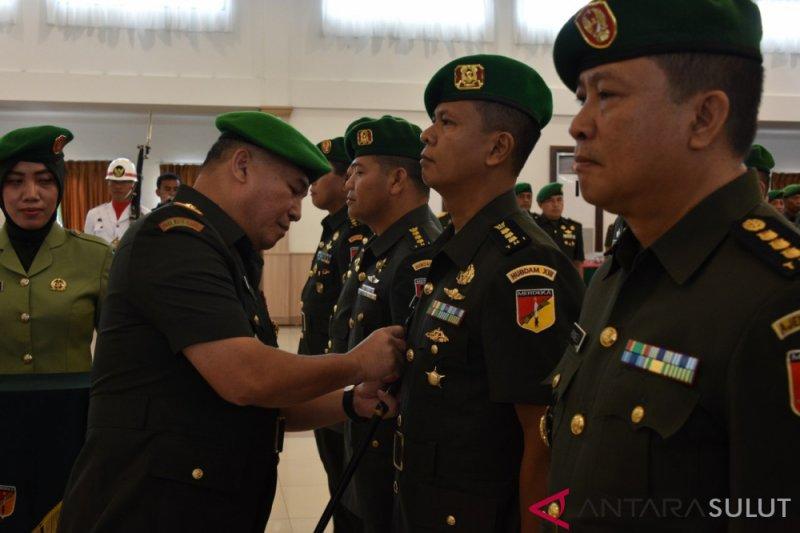 Pangdam Sertijab sejumlah pejabat utama Kodam  Merdeka