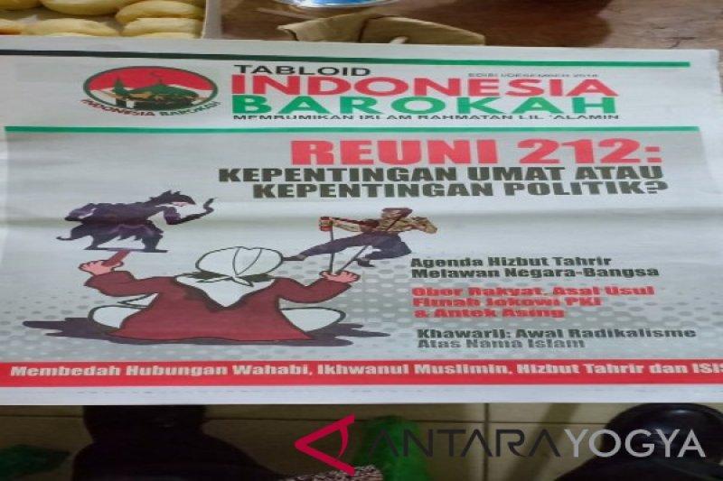 Bawaslu Kulon Progo telusuri peredaran Tabloid Indonesia Barokah