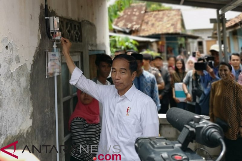Tagar #JokowiPilihanTepat trending di Twitter