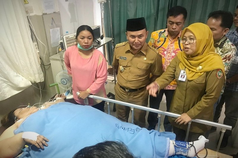 Kunjungi Titi Wati, gubernur ingatkan jajarannya cegah kejadian serupa