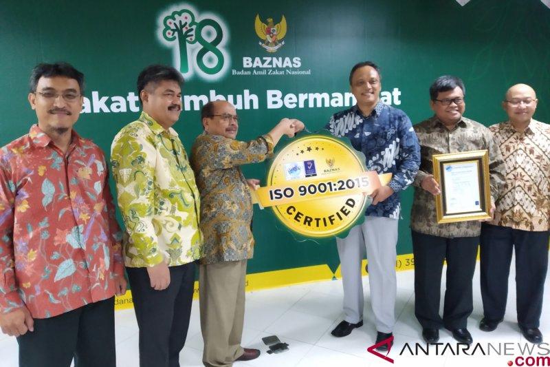 Baznas kembali peroleh sertifikat ISO 9001-2015