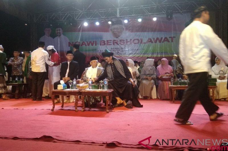 KH Ma'ruf Amin tuntaskan kampanye di Jawa Timur pekan ini