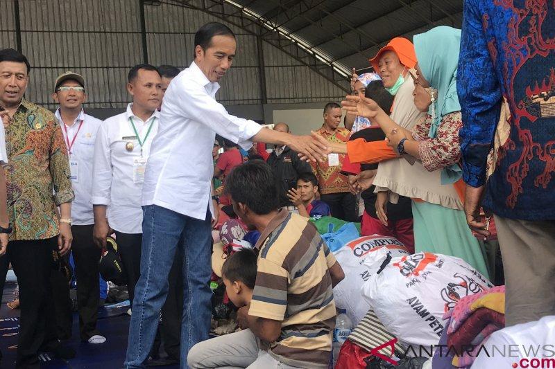 Presiden katakan 90 persen penyintas tsunami di Lampung ingin direlokasi