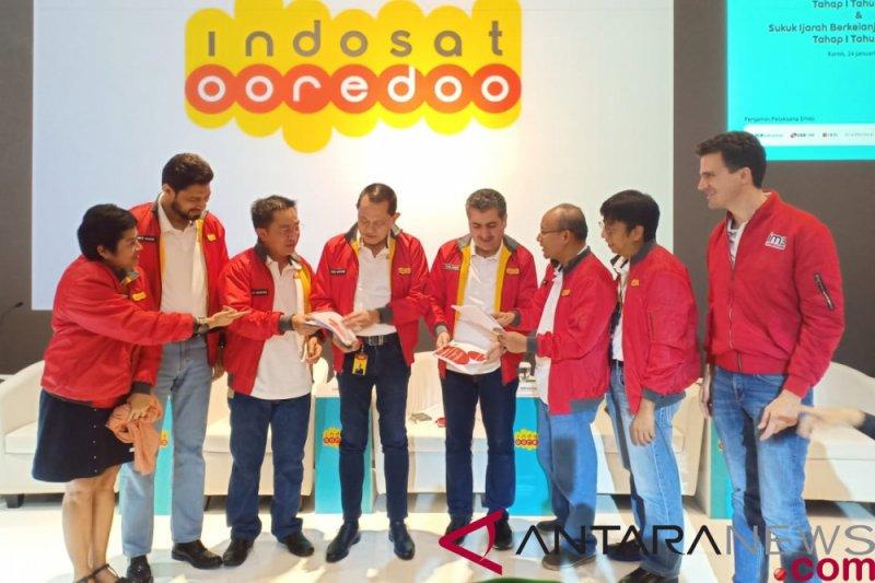 Indosat terbitkan obligasi berkelanjutan dan sukuk ijarah