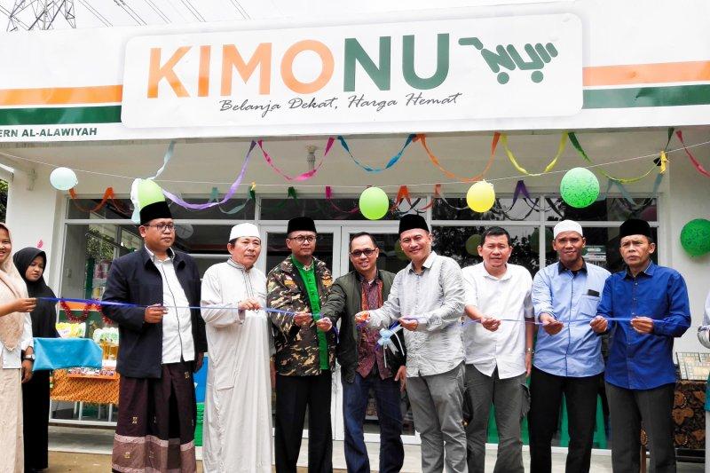 Untuk pemberdayaan ekonomi, minimart Kios Modern NU diresmikan di Bogor