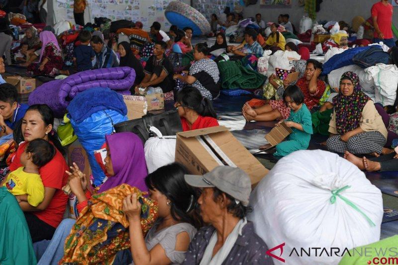 18 KK korban tsunami dipindahkan ke Wisma Atlet
