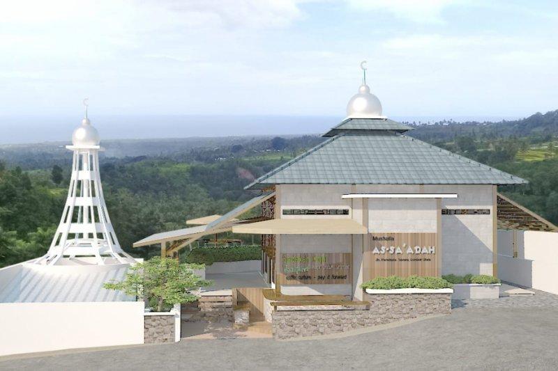 Warga Dusun Batuko kesulitan beli kubah untuk musala