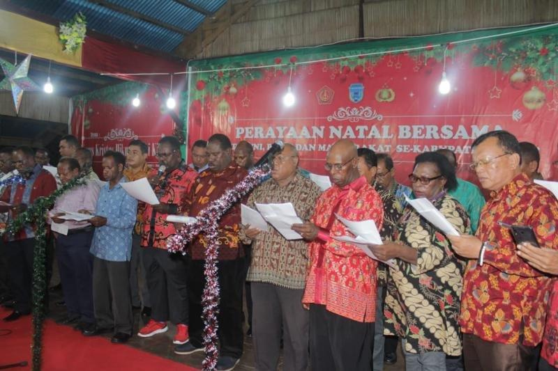 Pemkab Asmat gelar perayaan Natal bersama